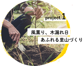project.1 風薫り、木漏れ日